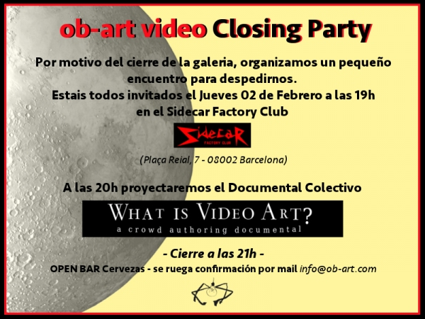 ob-art video closing party